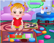 Baby Hazel learns shapes j�t�k